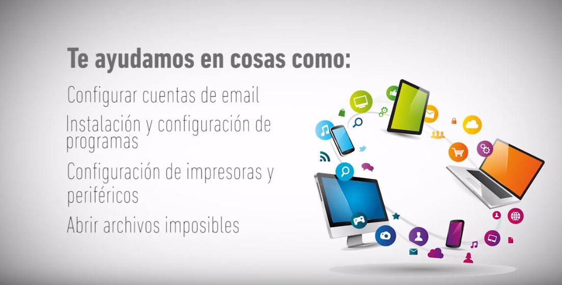 Asistencia informática para empresas - Ayuda