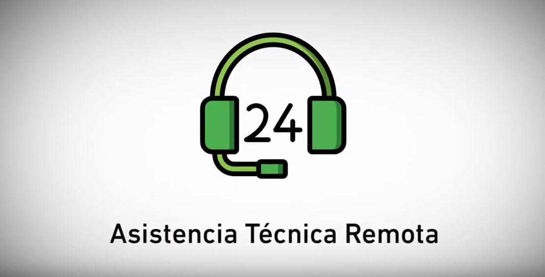 asistencia técnica remota